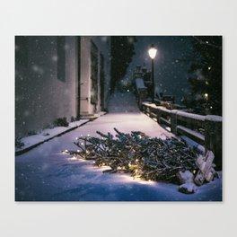Chrismas Tree Canvas Print