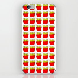 French fries -fries,patatoes,fast food,patato,frites,wedges,patata iPhone Skin