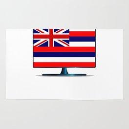 Hawaii Flag TV Rug