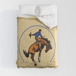 Full Moon Bronc & Cowboy Comforters