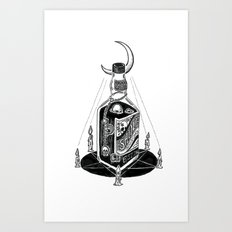 Devil's Moonshine Art Print