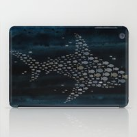 shark iPad Cases featuring Shark! by Claudine Gevry