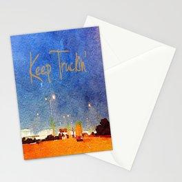 Keep Truckin' Stationery Cards