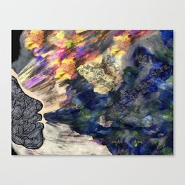 Wizards Breathing Canvas Print