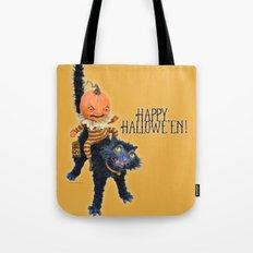 Rucus Studio Halloween Mischief Tote Bag