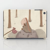 forrest iPad Cases featuring Forrest creatures by Loezelot
