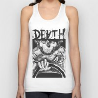 death Tank Tops featuring DEATH  by TARTWURK