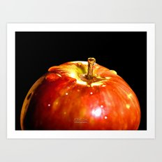 Fresh Apple Art Print