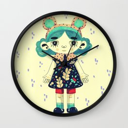 Rome little doll Wall Clock