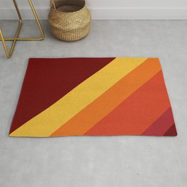 Retro 70s Color Palette II Rug