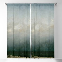 Caspar David Friedrich - The Monk by the Sea Blackout Curtain