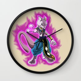 Mewtwo God Of Destruction Wall Clock