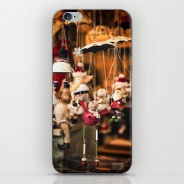 Christmas market, Lille iPhone Skin