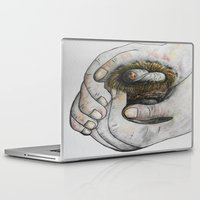 gift card Laptop & iPad Skins featuring God's Greatest Gift by EloiseArt