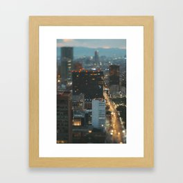 Serie Small Places from the Big Mexico City (II) Framed Art Print