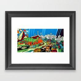 Sugarloaf Framed Art Print