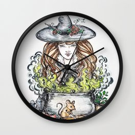 Good witch's kitchen Wall Clock