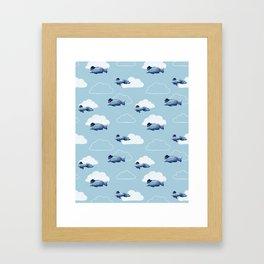 Fly Fish Fly Framed Art Print