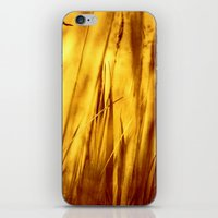 grass iPhone & iPod Skins featuring Grass by Fine2art