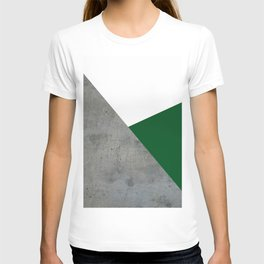 Concrete Festive Green White T-shirt