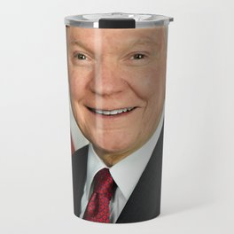 Jeff Sessions Portrait Travel Mug