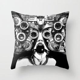 asc 712 - Le masque de la Méduse (Object woman) Throw Pillow