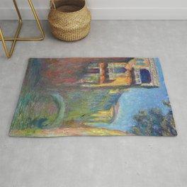 Rio della Salute by Claude Monet Rug