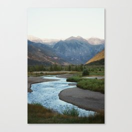 The Valley Floor Canvas Print