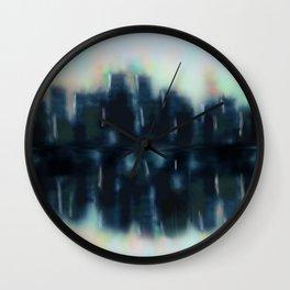 City Reflections Wall Clock