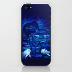 Passion act - pair with Dolphin pair iPhone & iPod Skin