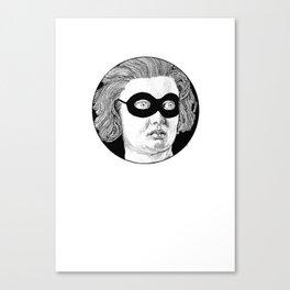 Zorro Costanza Canvas Print