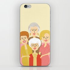 Thank you for being a friend iPhone & iPod Skin