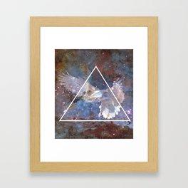 Flight Space Framed Art Print
