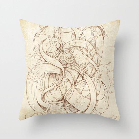 Escape   VACANCY zine   Throw Pillow