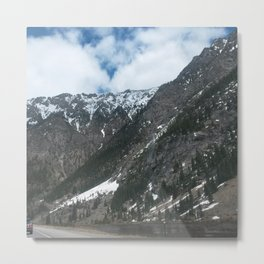 Mountain Slope Metal Print