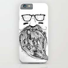 Beard Me Some Music (Black & White) iPhone 6s Slim Case