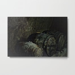 Barrels dark painterly Metal Print