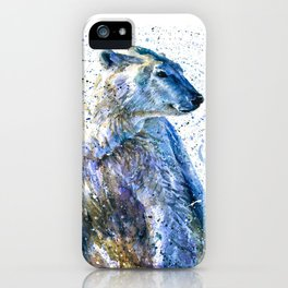 Snow Dreams iPhone Case