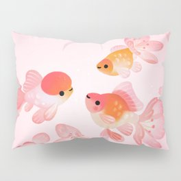 Cherry blossom goldfish Pillow Sham
