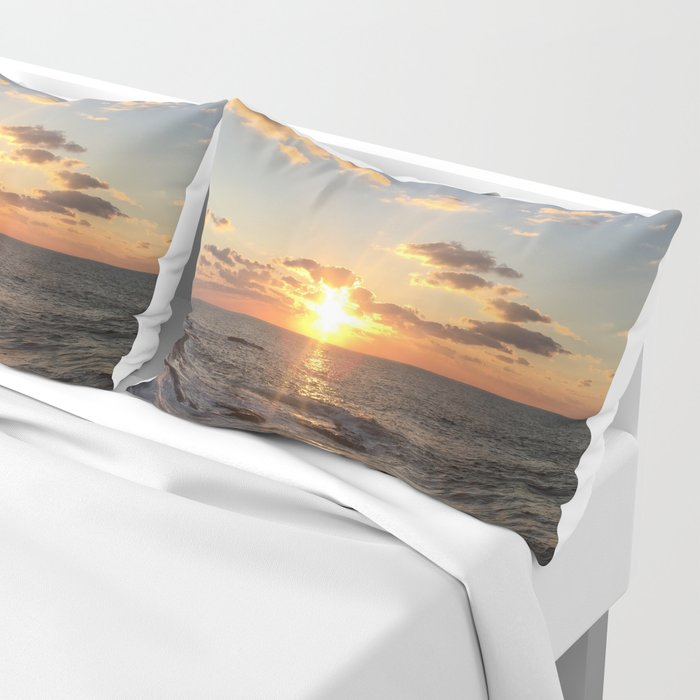 Mediterranean Sunset (Joppa) Pillow Sham