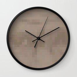 Harriet Tubman Pixel Wall Clock