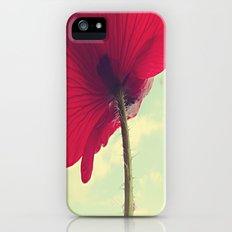Red Poppy, Blue Sky iPhone (5, 5s) Slim Case