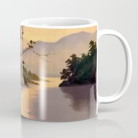 "asian Mugs featuring "" ASIAN DREAM "" by James Dunlap"