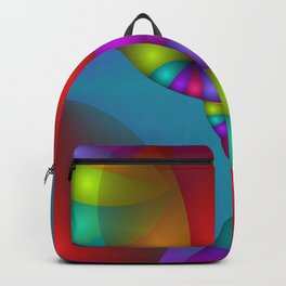 3D abstraction -14- Backpack