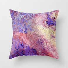 Red Hat Society Two Throw Pillow