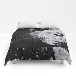 Perfect Pitch Black Comforters