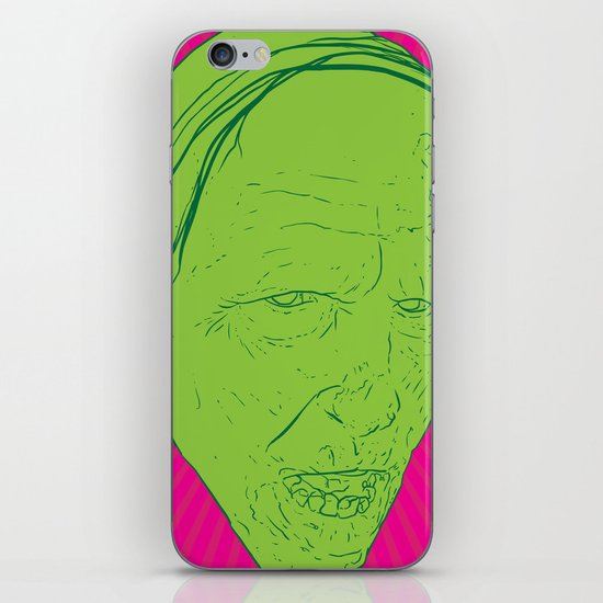 Neon Zombie iPhone & iPod Skin