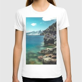 Summertime Lakeside - Crater Lake T-shirt