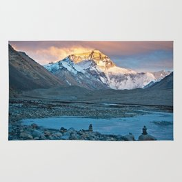 Sunset on Everest Rug