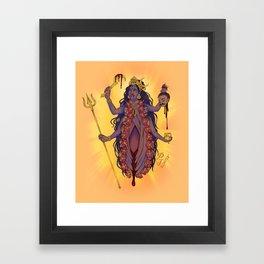 Kali Mami Framed Art Print